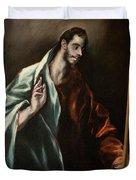 Apostle Saint Thomas Duvet Cover
