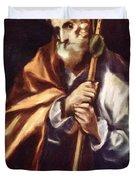 Apostle St Thaddeus Jude Duvet Cover