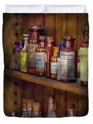 Apothecary - Inside The Medicine Cabinet  Duvet Cover