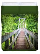 Appalachian Bridge Duvet Cover