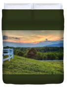 Appalachian Evening Duvet Cover
