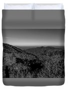 Appalachian Mountains From Mount Mitchell, The Highest Point In  Duvet Cover