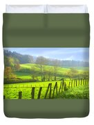 Appalachian Spring Morning Duvet Cover