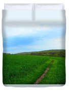 Appalachian Trail In Northern Maryland Duvet Cover