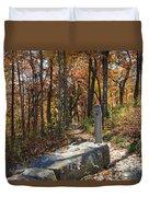 Appalachian Trail In Shenandoah National Park Duvet Cover