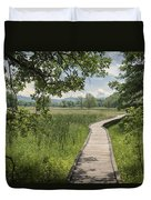 Appalachian Trail - Out Into The Light Duvet Cover