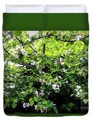 Apple Blossom Digital Painting Duvet Cover
