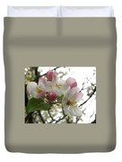 Apple Blossoms - Wild Apple Duvet Cover