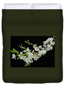 Apple Blossoms 2 Duvet Cover