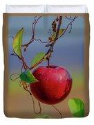 Apple On A Tree Duvet Cover