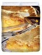 Apple Pie Dessert Duvet Cover