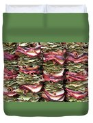 Garlands Of Apple Spice Potpourri Duvet Cover