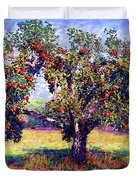 Apple Tree Orchard Duvet Cover