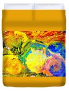 Apples And Sunshine Duvet Cover