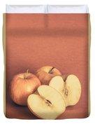 Apples In Autumn Duvet Cover