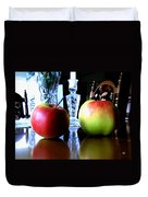 Apples Still Life Duvet Cover