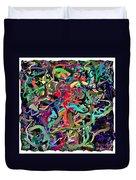 Apres Pollock Duvet Cover