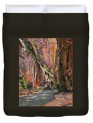 Apricot Canyon 2 Duvet Cover