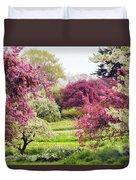 April Afterglow Duvet Cover