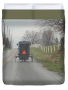 April Afternoon Buggy Ride Duvet Cover