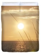 April Beach Duvet Cover