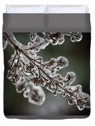 April Ice Storm 8 Duvet Cover