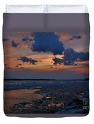 April Icy Niagara Duvet Cover