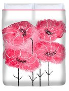 April's Flowers Duvet Cover