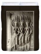 Apsaras Of Angkor Wat Duvet Cover