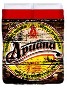Apuaha Beer Sign Duvet Cover