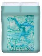 Aqua Dream Duvet Cover