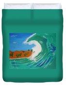 Aqua Passions Duvet Cover