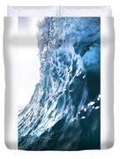 Aqua Ramp - Triptych Part 3 Of 3. Duvet Cover