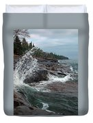 Aqua Shore Duvet Cover