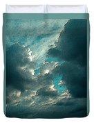 Aqua Sky Duvet Cover