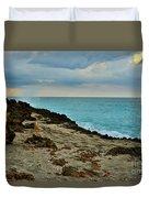 Aqua Surf Duvet Cover