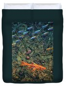 Aquarium 2 Duvet Cover by James W Johnson