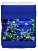 Aquarium Fish Duvet Cover
