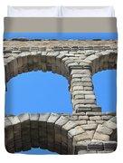 Aqueduct Of Segovia Duvet Cover