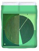 Aquifer # 10 Duvet Cover