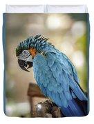 Ara Parrot Duvet Cover
