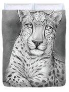 Arabian Leopard Duvet Cover