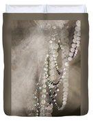 Arachne's Beads Duvet Cover