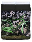 Aran Islands, Co Galway, Ireland Bicycle Duvet Cover