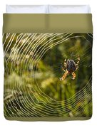 Araneus Morning Duvet Cover