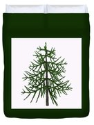 Araucaria Sp Tree Duvet Cover