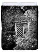 Arbor - Bw Duvet Cover