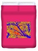 Arboreal Plateau 36 Duvet Cover