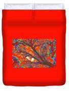 Arboreal Plateau 44 Duvet Cover
