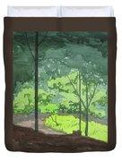 Arboretum Path Duvet Cover